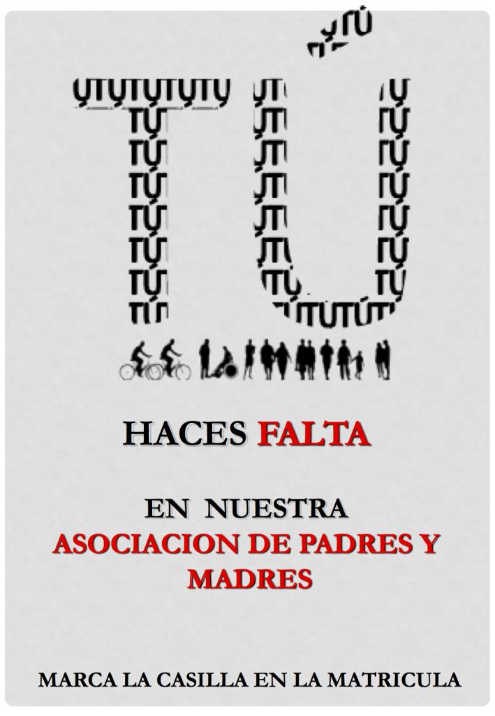 AMPA El Atabal - Tú Haces Falta