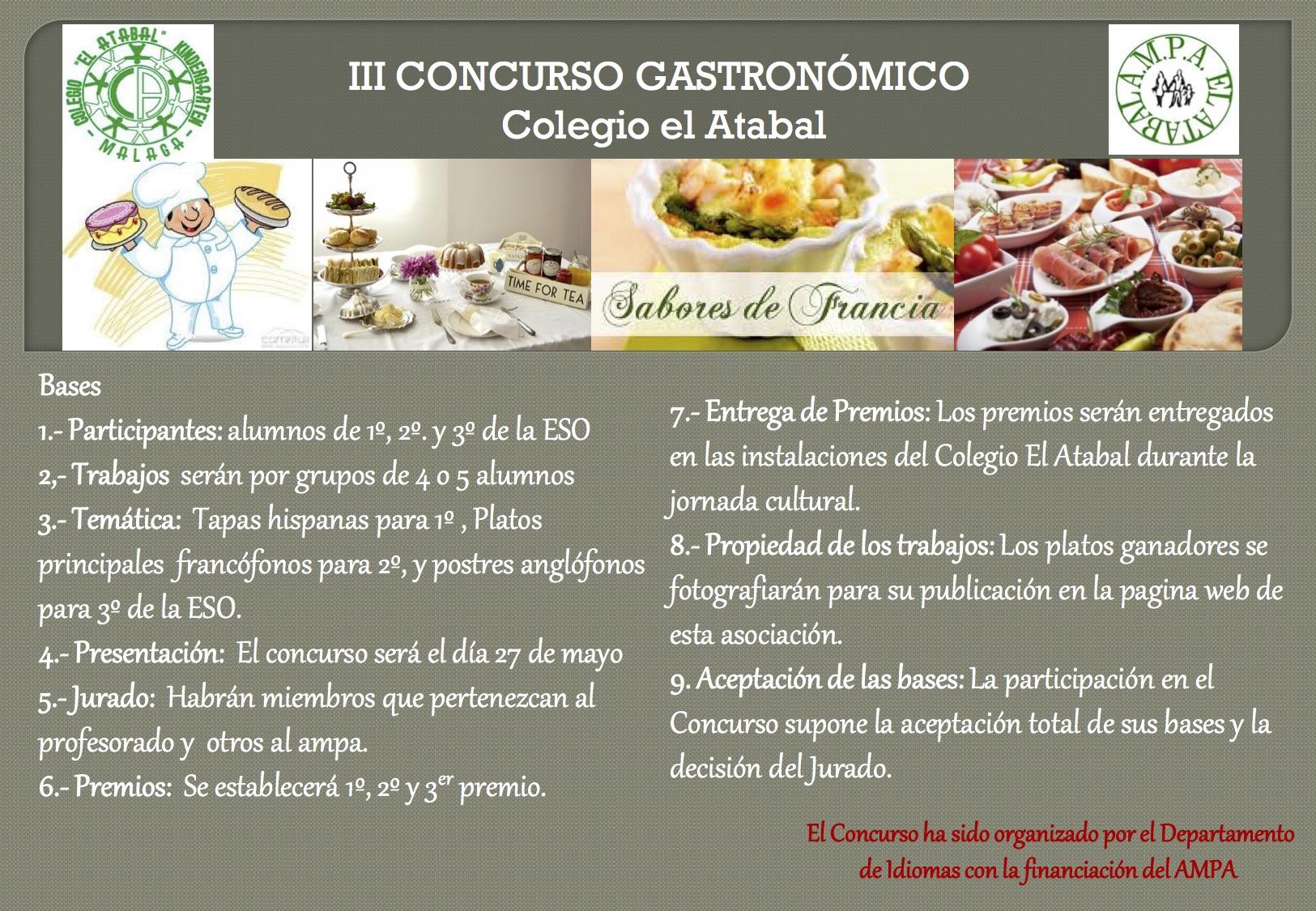 Concurso gastronomia